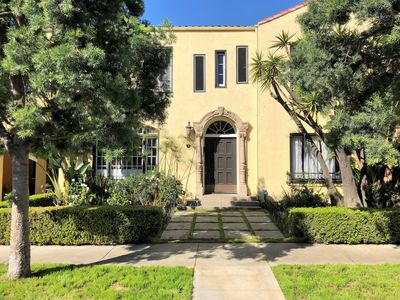 Photo for Private, Furnished, Gorgeous, Huge 1BD in Vintage Spanish 4-plex-Prime Location