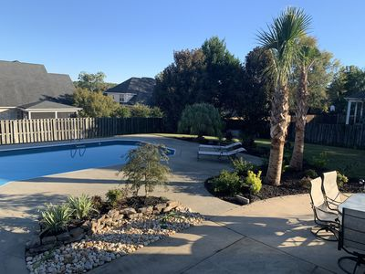 Great 2020 Masters Rental (12 miles from course) with pool &tropical landscaping