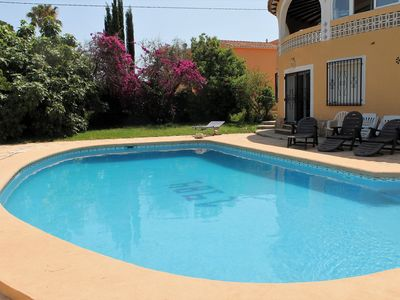 Photo for Amazing House in Denia with private pool, garden and barbecue for 12 people