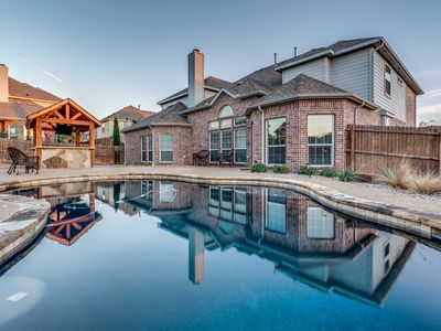Photo for Fabulous 6 Bedroom, 4 Bath Pool Outdoor Kitchen Media 3 Kings, 6 Queens, 1 Fu