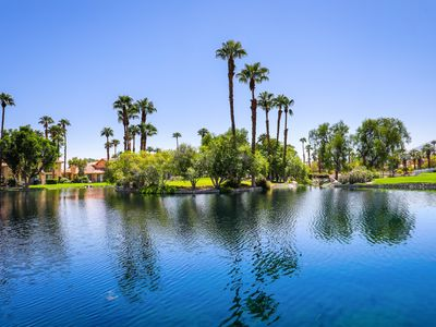 Photo for 161LQ  PGA WEST CONDO COMPLETELY REMODELED STUNNING LAKE AND MOUNTAIN VIEWS