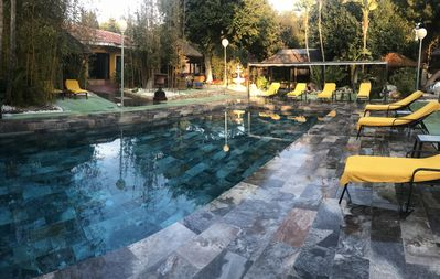 Photo for Outdoor pool with Spa and cleaning service