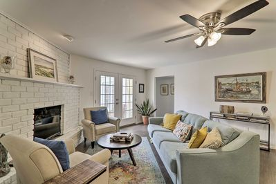 Make the most of your trip to Southern Texas at this beautiful vacation rental!