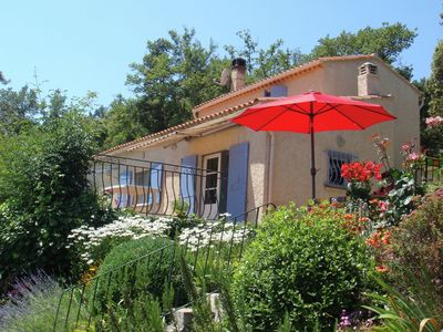Photo for Detached house with flowering garden and paddling pool near Signes