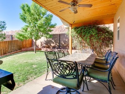 Photo for NEW LISTING! Modern, mountain view home w/patio, foosball & shared pool/hot tub