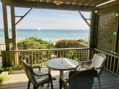 Photo for Gulf Front Home with the Best Views on 30A!  4BR/3BA  87' of Private Beach!