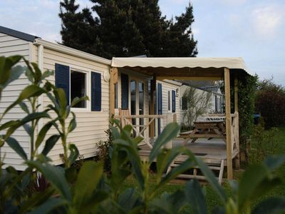 Photo for Camping Calquieres **** - Mobile home Sunny 3 Rooms 4 Persons