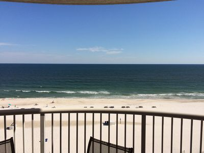 Newly Furnished 1BR/2BA Direct Gulf Front