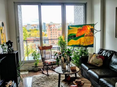 Photo for Stylish Artistic Clean apartment by Canal lachine