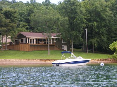 Photo for Dale Hollow's Only Waterfront Vacation Home