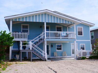 """Photo for """"White Eagle""""Oceanfront Home 2 kitchens, 2 separate living spaces & 2 private entrances (no interior access) provide plenty of room for up to 12 guests!"""