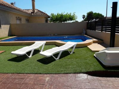 Photo for Ideal villa 100 meters from one of the best beaches in the Ebro Delta