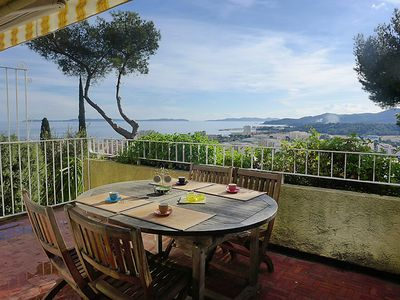 Photo for 2 bedroom Apartment, sleeps 4 in Le Lavandou with WiFi