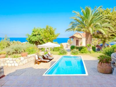 Photo for 3 bedroom Villa, sleeps 5 in Lygaria with Pool, Air Con and WiFi