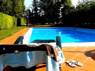 Photo for Casa Friend: two-room apartment with swimming pool on Lake Garda !!