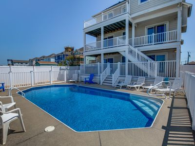 Photo for Majestic Palm #2 | 753 ft from the beach | Private Pool, Hot Tub | Nags Head
