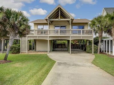 Photo for 3 Bedroom, 2 Bath home across the street from the Beach.  Sleeps up to 6 guests and is Pet Friendly.