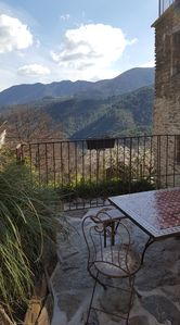 Photo for Near Les Vans cottage bonelli 6 people in the countryside with swimming pool and jacuzz