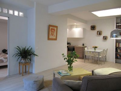 Photo for ANTIBES Garden Level 3 * quiet house in the heart of the city