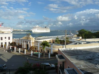 Photo for Waterfront Condo with Spectacular View of San Juan Harbor