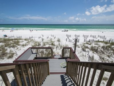 Photo for Gulf front, Spacious, Sleeps 13, 2 King beds, Gorgeous Views! Santa Rosa beach