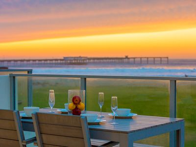 Photo for 20% OFF SEP - Beachfront w/ Spectacular Views, Walk to All
