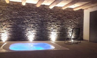 Photo for Chalet 6/9 places. Jacuzzi, sauna, fireplace, ideal location for hiking.