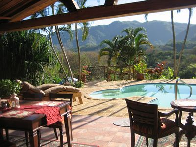 Photo for Costa Rican Holiday Home On 20 Acres Just Outside Of Herradura's Sandy Beaches.