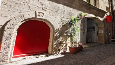 Photo for Charming apartment for 4 people, in the heart of Pezenas