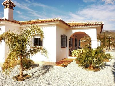Photo for Detached holiday home with private swimming pool, privacy and stunning views