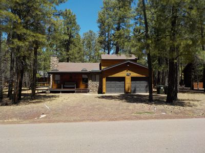 Photo for SPECTACULAR COZY CABIN NESTLED IN THE PINES IN PINE TOP COUNTRY CLUB