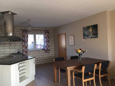 """Photo for Holiday apartment """"Star"""" (ground level) - Gutspark Schwarzbe with riding stable - cottage 3"""
