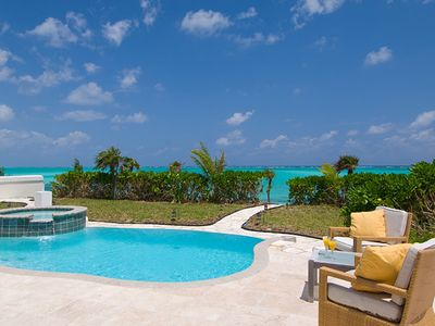 Poolside and Ocean front at Pelican Beach Villa #1