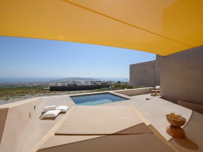 Photo for Royal Albus Court, 2 Villas and Suite with Private Pools, Caldera View