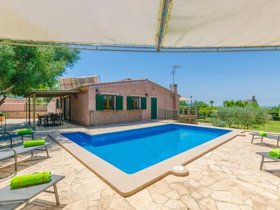 Photo for SON FRAU - Villa with private pool in MANACOR.