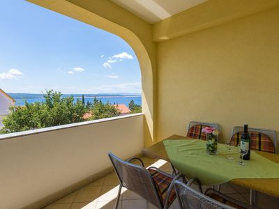 Photo for Holiday apartment with covered balcony
