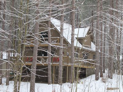 Photo for BEAUTIFUL, SPACIOUS Crystal Mountain Resort Home. Just Steps To Village!