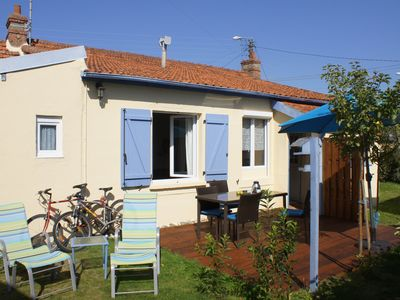 Photo for Single storey, St Quay Portrieux, 2 steps from the beaches, the harbor & center