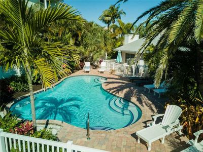Photo for 2BR2BA with Pool, Gulf View, Fireplace, Patio, Private OUTDOOR Shower and WIFI