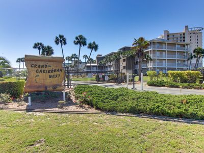 Photo for Snowbird-friendly condo w/ a shared pool - just moments away from the beach!