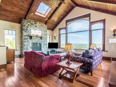 Photo for Woodstock Hillside House with unparalleled views!