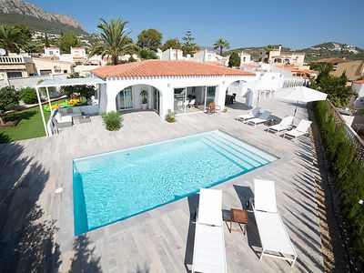 Photo for Vacation home Trébol in Calpe/Calp - 10 persons, 5 bedrooms