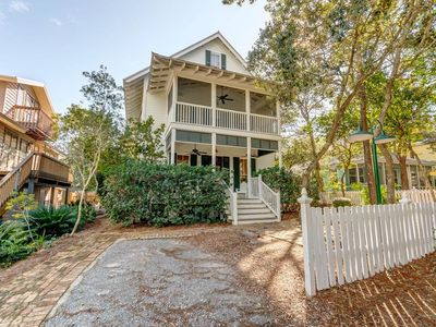 Photo for Tupelo Honey, Beautiful Home in Old Seagrove Beach, Private, Heated Pool, Steps to Beach & Seaside!