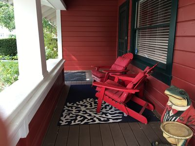 There is a wraparound porch, perfect for that morning cup of coffee.