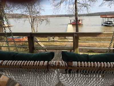 Photo for Big, Fun Home With Best View At Cedar Creek Lake