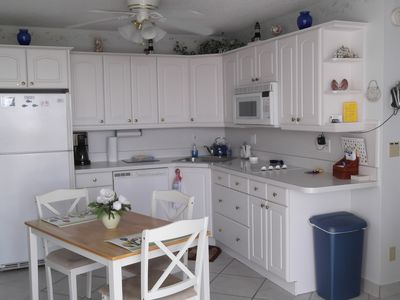 Kitchen  with dishwasher and fully furnished.