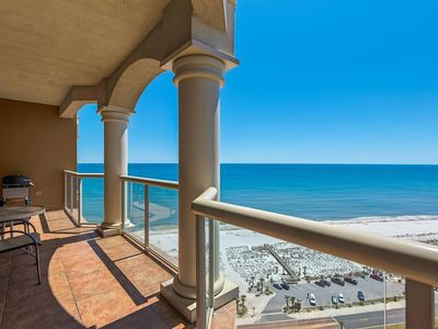 Photo for Sweeping Gulf views w/ beautiful sunsets.  End of Summer Sale come to the beach!