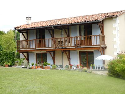Photo for Le Nid, two bedroom bijoux property,  Montboyer, pool, sleeps 4