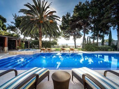Photo for This 5-bedroom villa for up to 10 guests is located in Split and has a private swimming pool, air-co