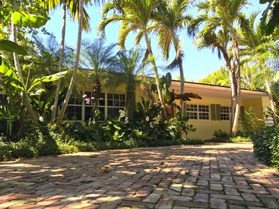 Photo for Tropical Oasis, Family Friendly Palm Beach House